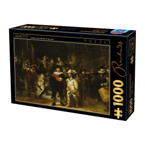 D-Toys 1000 - Rembrandt - Night Watch