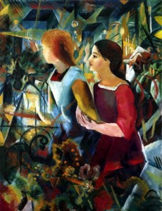 D-Toys 1000 - August Macke: Two Girls