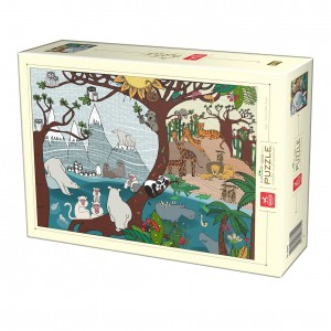 D-Toys 1000 - Nature Collection - Summer and Winter