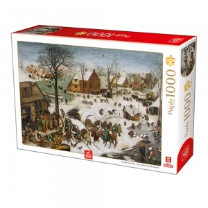 D-Toys 1000 - Breughel the Elder - The numbering at Bethlehem