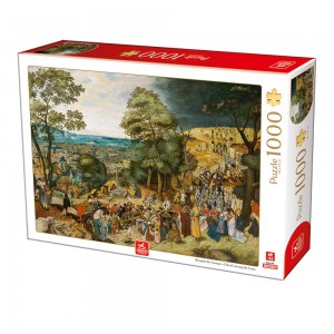D-Toys 1000 - Breughel the Younger - Christ Carrying the Cross