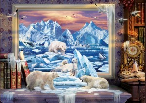 Art Puzzle 1500 - Artic Dream