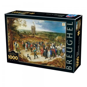 D-Toys 1000 - Breughel the Younger - The Marriage Procession