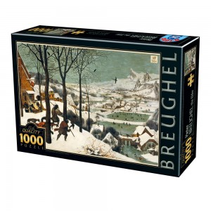D-Toys 1000 - Pieter Brueghel the Elder - Hunters in the Snow
