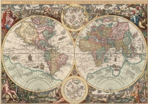 Art Puzzle 1500 - World Map