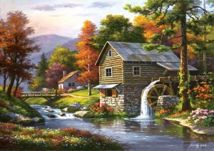 Art Puzzle 1500 - Old Sutter's Mill