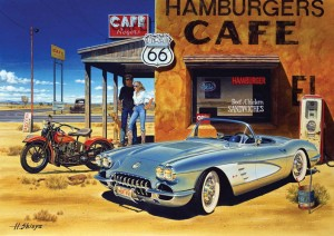 Art Puzzle 1500 - Arizona Cafe