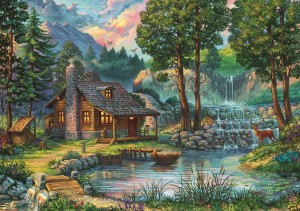 Art Puzzle 1000 - Fairytale House