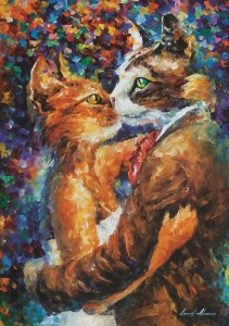 Art Puzzle 1000 - Dance of the Cats in Love