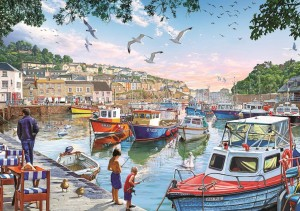 Art Puzzle 1000 - The Little Fishermen at the Harbour