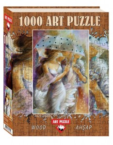 Art Puzzle 1000 - Wooden Jigsaw Puzzle - Lena Sotskova: One Day in May