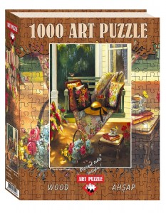 Art Puzzle 1000 - Wooden Jigsaw Puzzle - Summer Shade