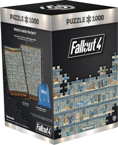 Good Loot Puzzle 1000 -  Fallout 4 Perk Poster