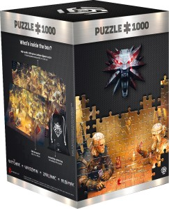 Good Loot Puzzle 1000 - The Witcher (Wiedźmin): Playing Gwent