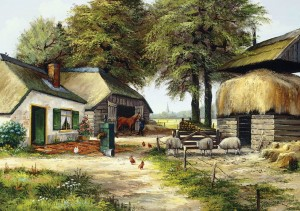 Art Puzzle 1000 - Farm House