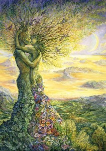 Art Puzzle 1000 - Josephine Wall, Love of Nature