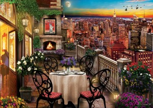 Art Puzzle 1000 - Dinner in New York