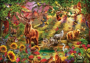 Art Puzzle 1000 - Ciro Marchetti, Enchanted Forest
