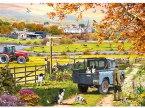 Otter House Puzzle 1000 - Countryside Morning