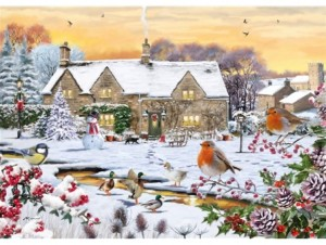 Otter House Puzzle 1000 - Country Garden