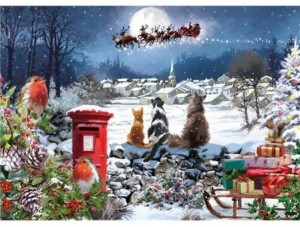 Otter House Puzzle 1000 - Christmas Delivery