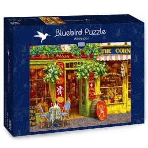 Bluebird Puzzle 1000 - White Lion