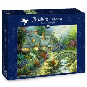 Bluebird Puzzle 1000 - Country Cottage