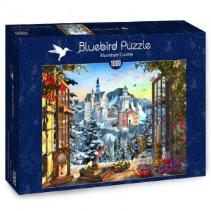 Bluebird Puzzle 1000 - Mountain Castle