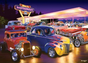 Master Pieces 1000 - Friday Night Hot Rod's