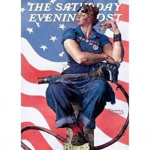 Master Pieces 1000 - Norman Rockwell - Rosie the Riveter