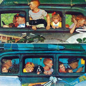 Master Pieces 1000 - Norman Rockwell: Coming and Going