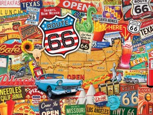 Master Pieces 550 - Route 66