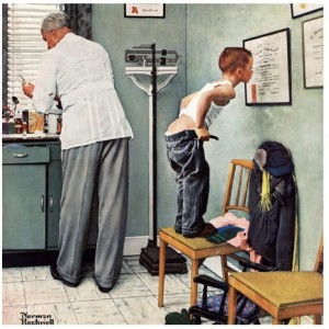 Master Pieces 1000 - Norman Rockwell, At the doctor