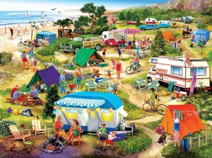 SunsOut 1000 - Seaside Campground