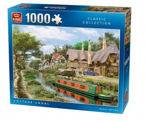King 1000 - Dominic Davison: Cottage On Canal