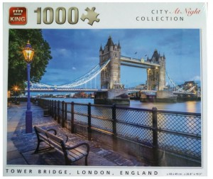King International 1000 - City Collection at Night - Tower Bridge, London, England