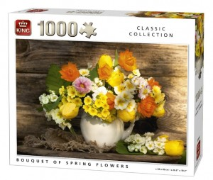 King 1000 - Bouquet of Spring Flowers