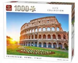 King 1000 - Collosseum at Sunrise in Rome, Italy