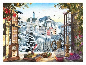 Pintoo 1200 Plastic Puzzle - Dominic Davison - The Fairytale Castle