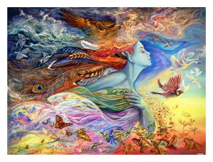 Pintoo 1200 Plastic Puzzle - Josephine Wall - Spirit of Flight