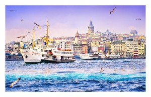 Pintoo 1000 Plastic Puzzle - Golden Horn, Turkey