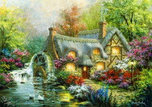 Bluebird Puzzle 3000 - Nicky Boehme - Country Retreat