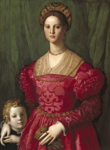 Grafika 2000 - Agnolo Bronzino: A Young Woman and Her Little Boy, 1540