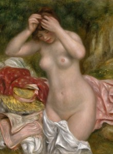 Grafika 2000 - Auguste Renoir: Bather Arranging Her Hair, 1893