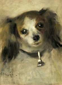 Grafika 2000 - Auguste Renoir: Head of a Dog, 1870