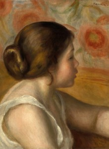 Grafika 2000 - Auguste Renoir: Head of a Young Girl, 1890