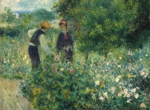 Grafika 2000 - Auguste Renoir: Picking Flowers, 1875