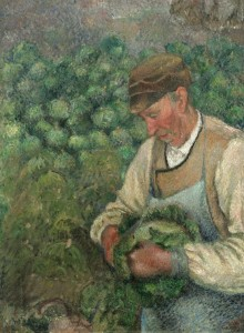 Grafika 2000 - Camille Pissarro: The Gardener - Old Peasant with Cabbage