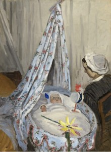 Grafika 2000 - Claude Monet - The Cradle - Camille with the Artist's Son Jean, 1867