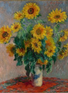 Grafika 2000 - Claude Monet: Bouquet of Sunflowers, 1881
